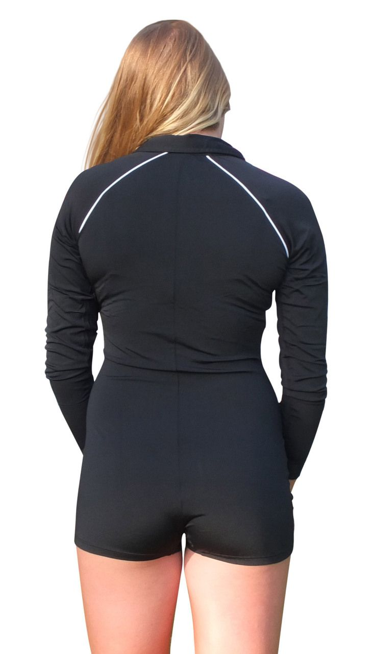 Solartex Sun Gear - Ladies Boyleg Swimsuit - Long Sleeves - by Stingray, $59.90 (http://www.solartex.com/womens/ladies-boyleg-swimsuit-long-sleeves-by-stingray)