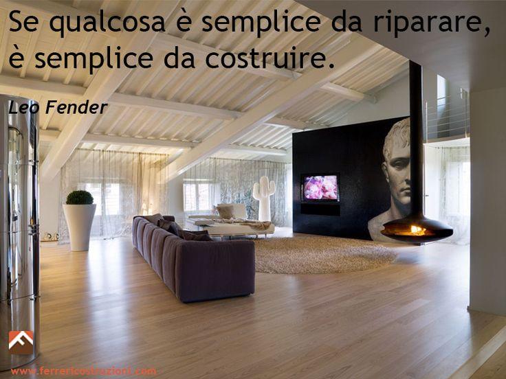 Se qualcosa è semplice da riparare, è semplice da costruire (Leo #fender) #passione #lavoro #piùchecostruire
