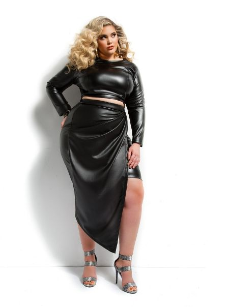 Plus Size Latex Clothing 93