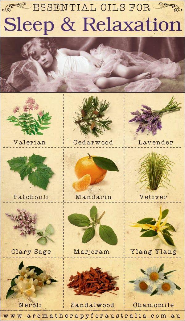 Aromatherapy For Australia: 12 Essential Oils For Sleep & Relaxation