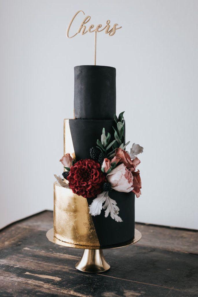 Leckere Trends für die Hochzeitstorte 2019 – Diese Backwaren sind IN! #Trend…   – Hochzeit