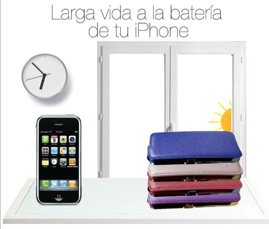 Larga vida a la batería de tu iPhone. Fundarealizada en piel con batería de dos cargas extras, ligera y ultra fina. http://www.salvadorbachiller.com/shop/complementos/fundas-tecnologa/golf/funda-con-bateria-iphone-5s5-golf-pa83023-5s-frambuesa
