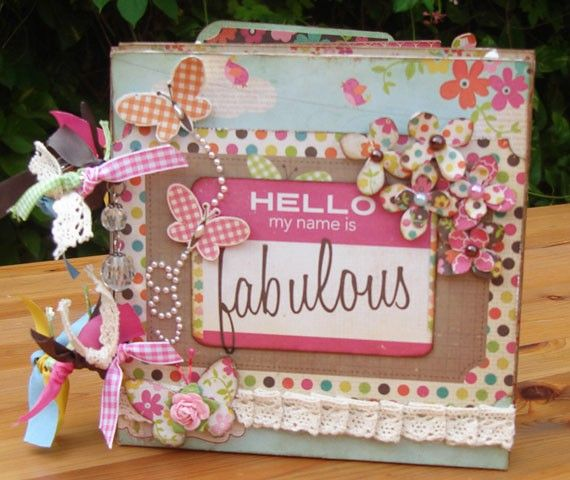 scrapbook album covers for new home | by shereenaftab project mini scrapbook album