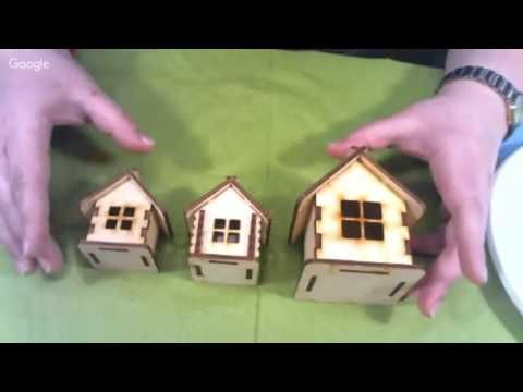 Вебинар.Наталья Блисс.Пряничный домик своими руками .