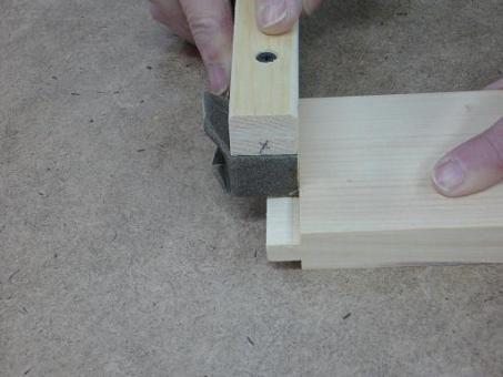 Rabot à épaulement du pauvre / Poor Man Shoulder Plane | Atelier du Bricoleur (menuiserie)…..…… Woodworking Hobbyist's Workshop