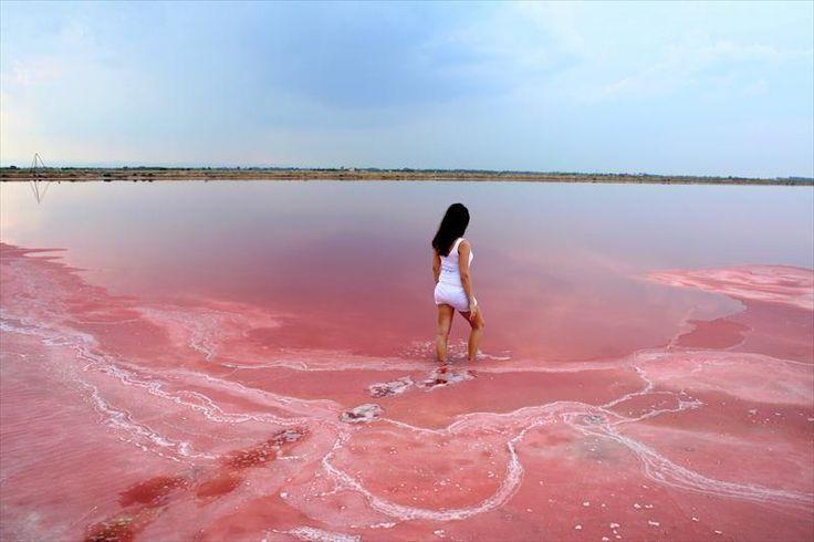 Le Lac Hillier en Australie est tout rose (9)…