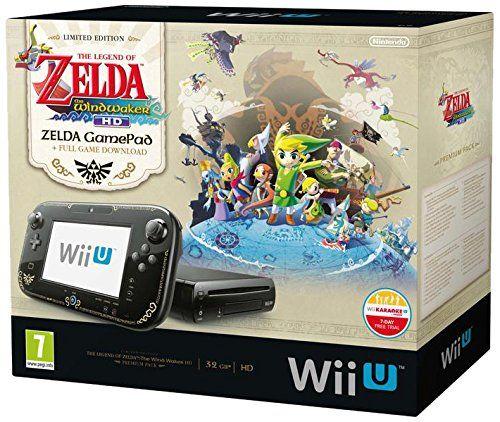 Console Nintendo Wii U 32 Go noire - 'The Legend of Zelda : Wind Waker HD' - édition limitée premium pack: Amazon.fr: Jeux vidéo