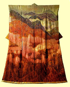 Kou: Change Civilization.ca - Landscape Kimonos of Itchiku Kubota
