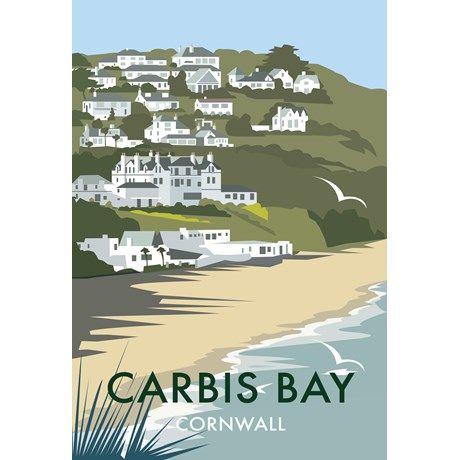 Carbis Bay Art Print