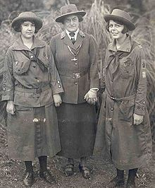 """Juliette Gordon Low (1860 - 1927) founder of the Girl Scouts of the USA """"The work of today is the history of tomorrow, and we are its makers."""""""