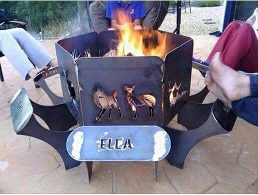 Outdoor Fireplace Welding Project : Best metal fire pit ideas that you will like on