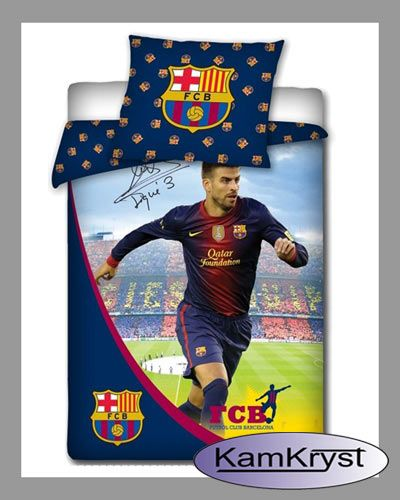 Bedding Pique of FC Barcelona | Pościel Pique FC Barcelona #fc_barcelona #pique_bedding #barcelona_bedding