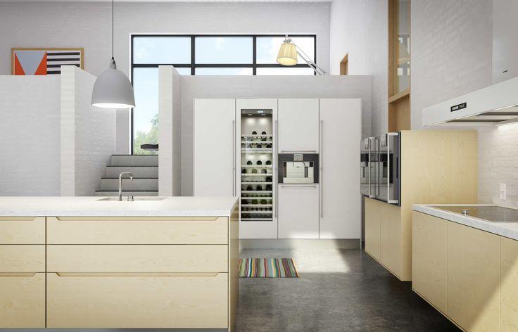 Køkken i træ | Minimalistisk luksuskøkken fra uno form