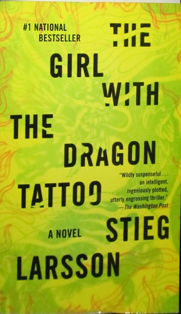 176 best just read images on pinterest antique books hardcover the girl with the dragon tattoo by stieg larsson 2009 paperback fandeluxe Choice Image