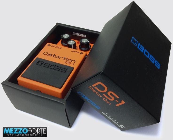 Boss DS-1 overdrive/torzító gitár pedál