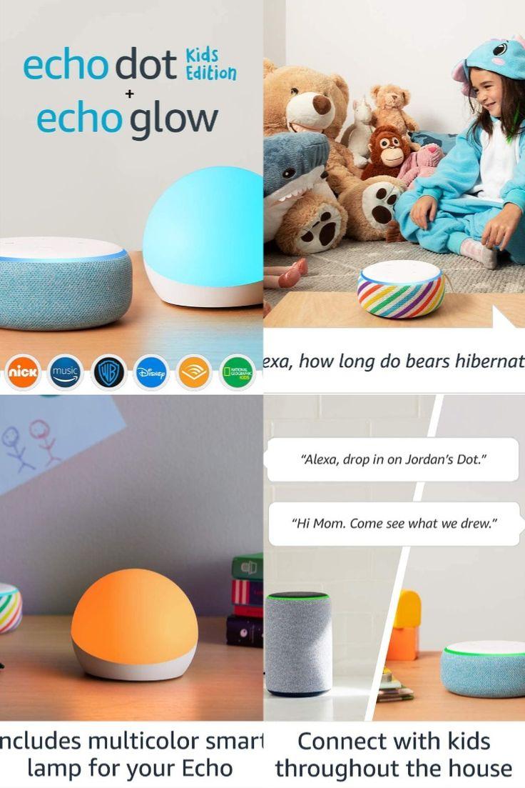 Echo Dot Kids Edition Blue With Echo Glow in 2020