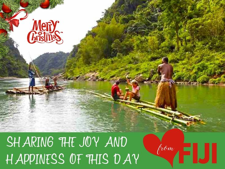 Merry Christmas, Love, Joy and Happiness all the way from The Fiji Islands! Have a HAPPY Christmas celebration wherever you are! https://www.fijitravel.deals/