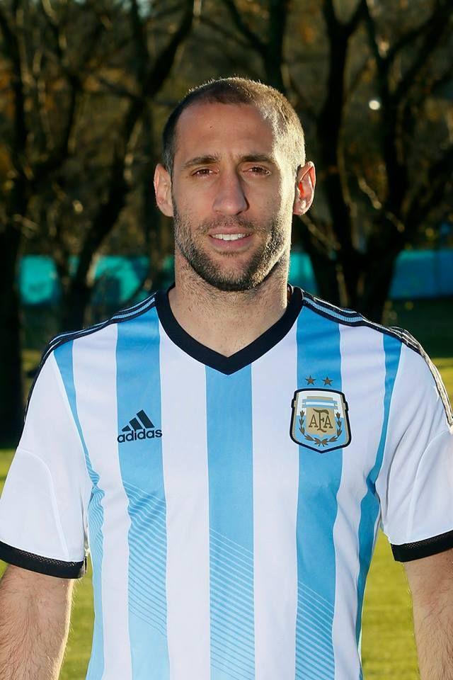 Jugadores de la selección Argentina Mundial Brasil 2014 - Pablo Zabaleta