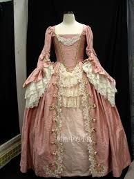 Image result for baroque dresses 18 th century