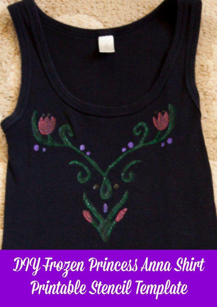 25 best frozen princess ideas on pinterest princess for Diy disney shirt template