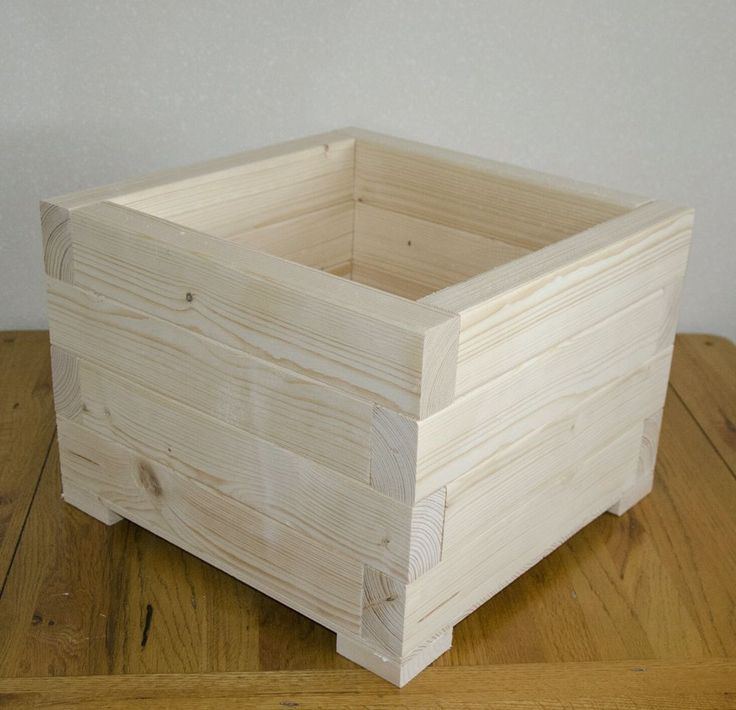how to make a wooden basket