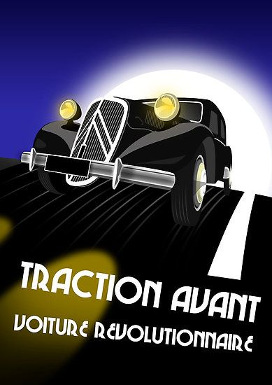 Citroën Traction Avant.  v@e.
