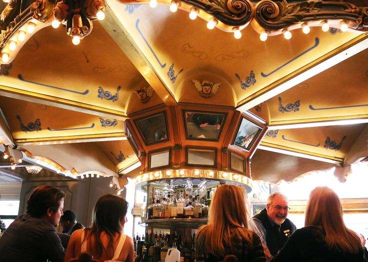 A Sunday spin at the world-famous Carousel Bar is the perfect cap to a fun-filled weekend.