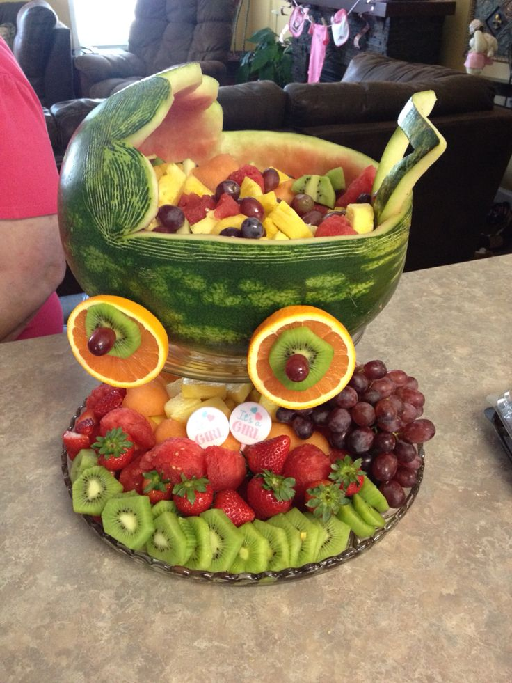 Watermelon Baby Carriage