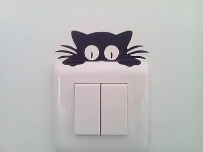 Cute Cat Light Switcher Sticker   Free Worldwide Shipping!  Only $2.80    Order from: www.happycozyhome.com
