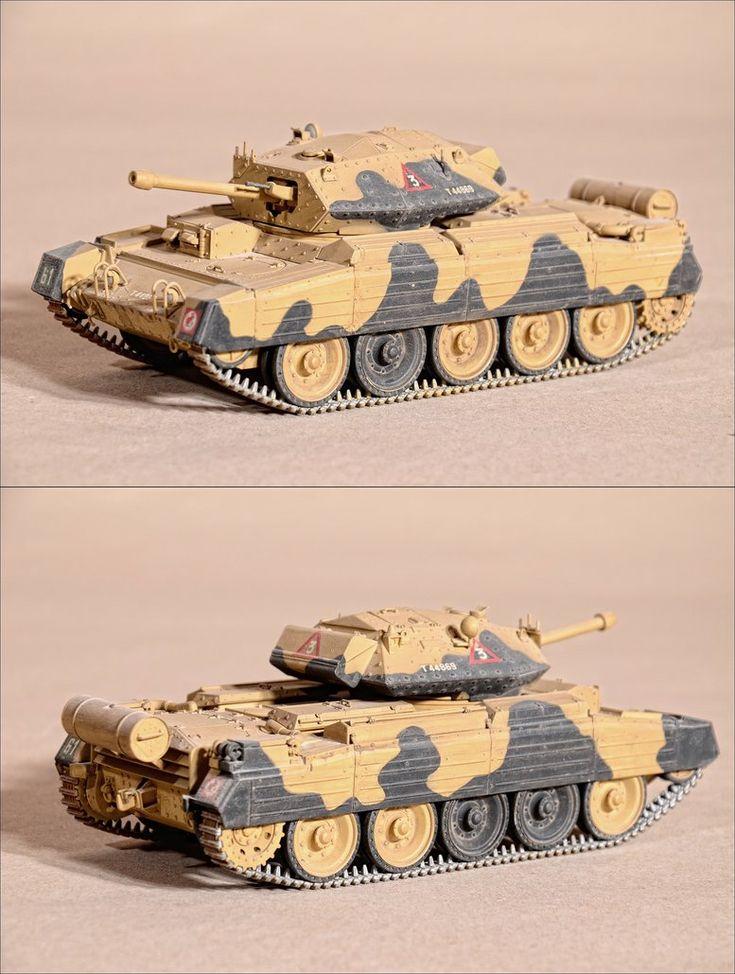 British tank Crusader Mk3 (1:35 Italieri) by MazUsKarL #tanks #panzer #british #army #desert #miniature #modelkit #military #warfare #ww2 #militaria