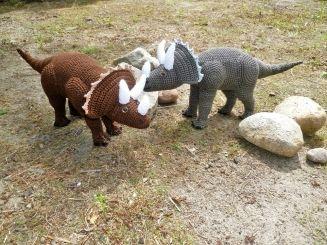 Häkelanleitung Dinosaurier