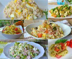 Raccolta di ricette per primi piatti freddi estivi