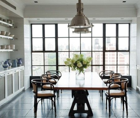 Kitchen With City Views | photo Peter Murdock | design Anthony Baratta | House & Home