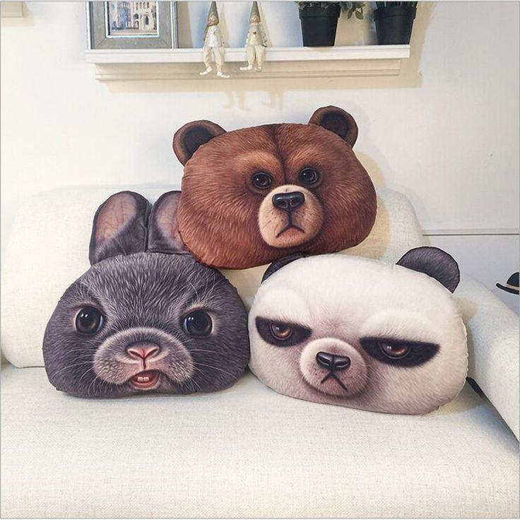 Cushions Cat Face