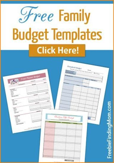 Best Family Budget Template Ideas On   Budget