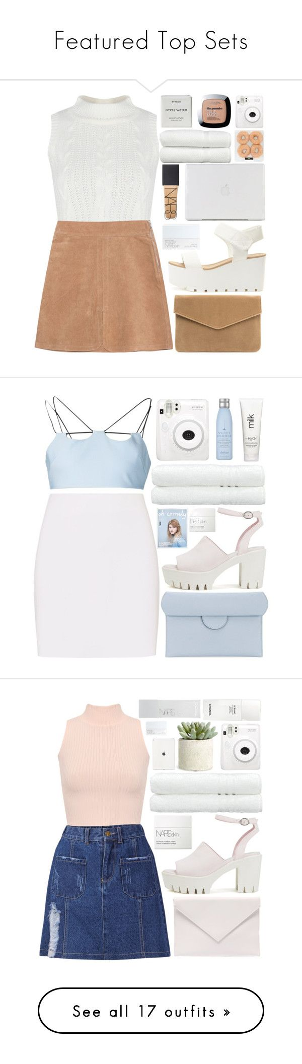 """""""Featured Top Sets"""" by charli-oakeby ❤ liked on Polyvore featuring See by Chloé, Fuji, Linum Home Textiles, NARS Cosmetics, Byredo, L'Oréal Paris, contest, happy, love and featureme"""