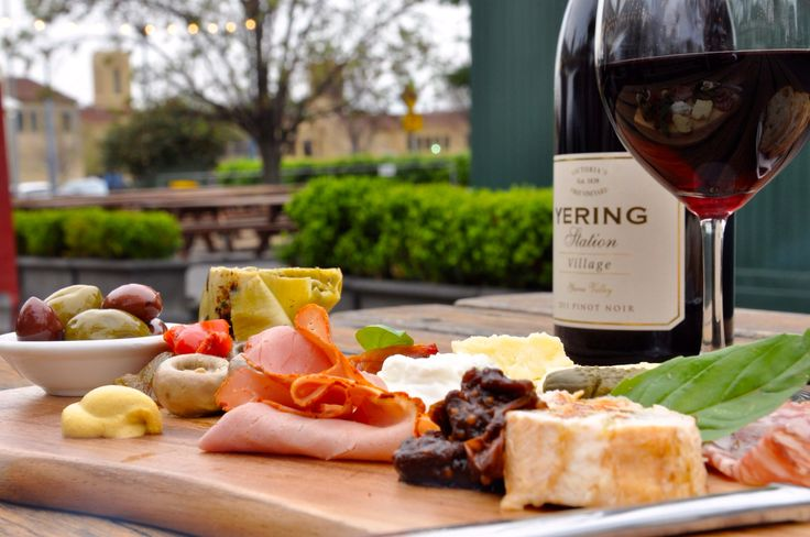 Village Melbourne Tasting Board #yum #cheese #spring