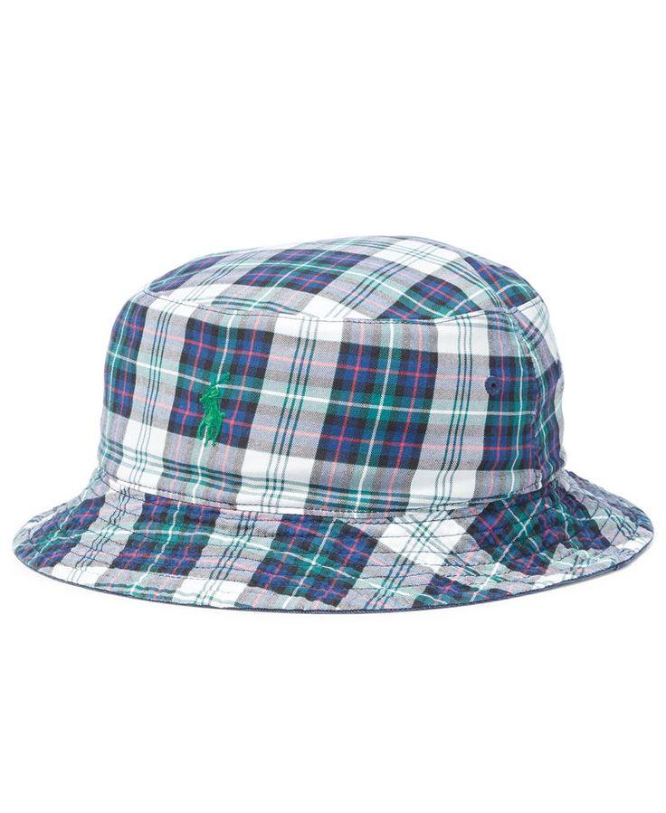 Polo Ralph Lauren Men's Big & Tall Cotton Reversible Bucket Hat