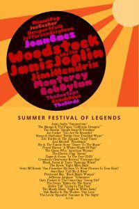 Playlist: Summer Festival Of Legends - Musik der 60er Jahre (Woodstock, Monterey Festival, Newport Folk Festival, etc.