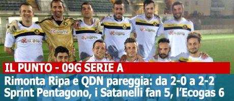 Il Punto| 09G Serie A: Lo Sporting strappa 3 punti d'oro, Clamorosa rimonta del Ripa