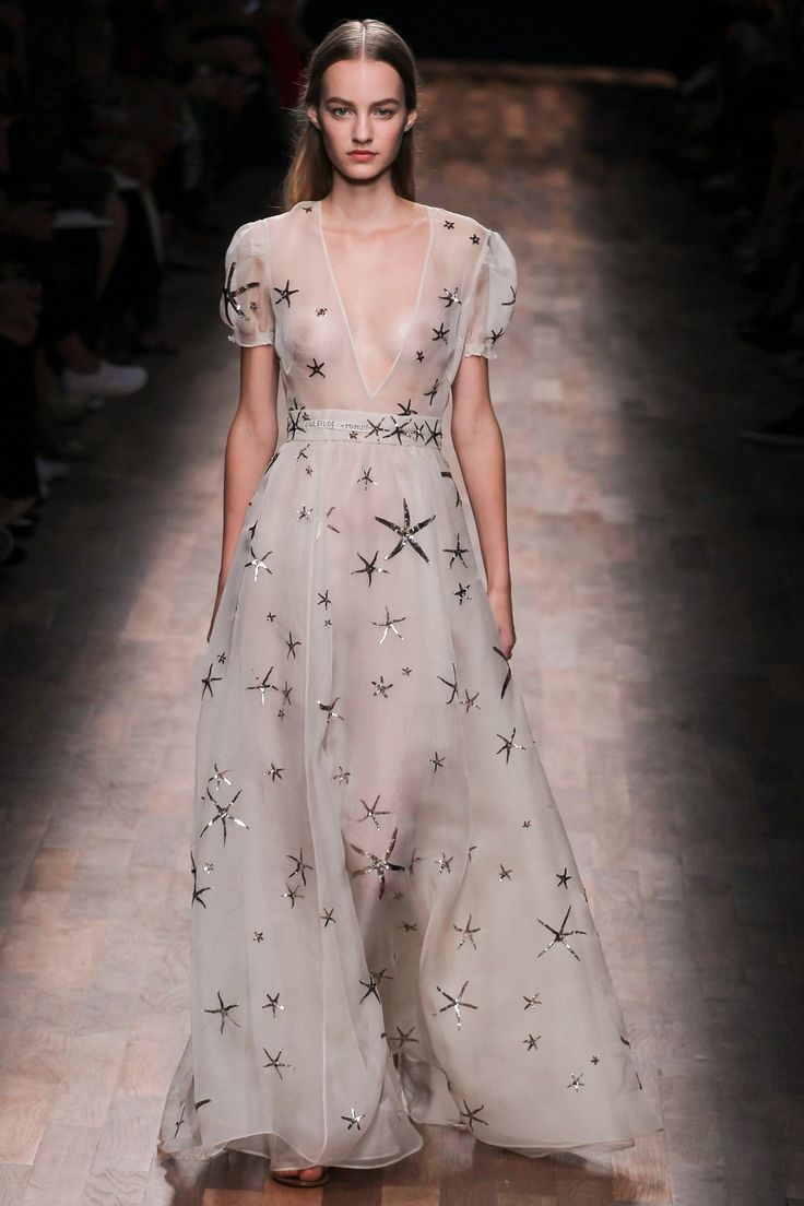 During Paris Fashion Week there were 3 main fabric trends-sheer, denim, and suede. - Jacob C.