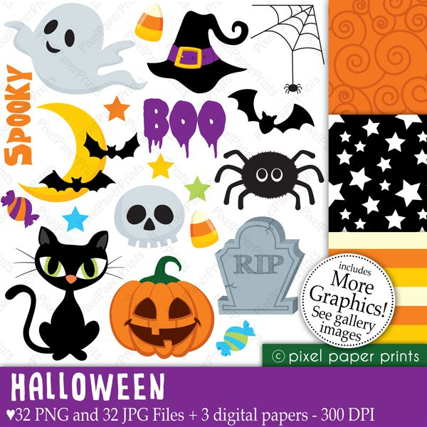 """This is a set of 32 PNG files with transparent background, 32 JPG FILES and 3 different digital paper designs plus a 12"""" X 12"""" background image. The digital papers are 8.5""""x11"""" JPG files. All these files are watermark-free."""