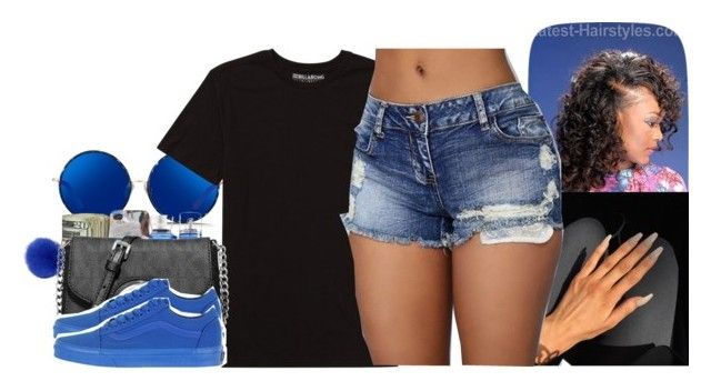 """Love Me Blue 7/28/16"" by fashi0n-l0v3 ❤ liked on Polyvore featuring Matthew Williamson, Billabong, Michael Kors and Vans"