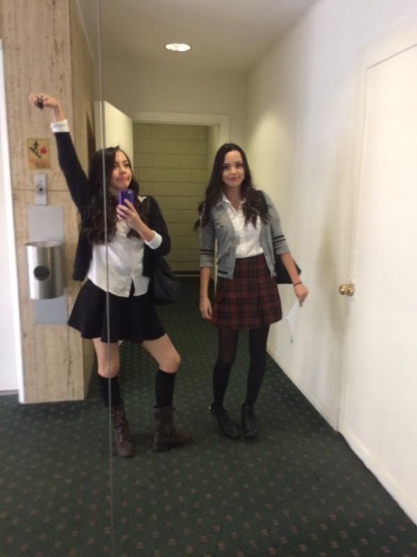 Roni and Nessa:) | Merrell Twins | Pinterest | Twin