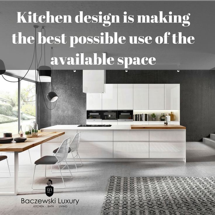 Kitchen Design Is Making The Best Possible Use Of The Available Space