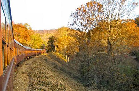 Great Smoky Mountains Railroad, Bryson City, North Carolina