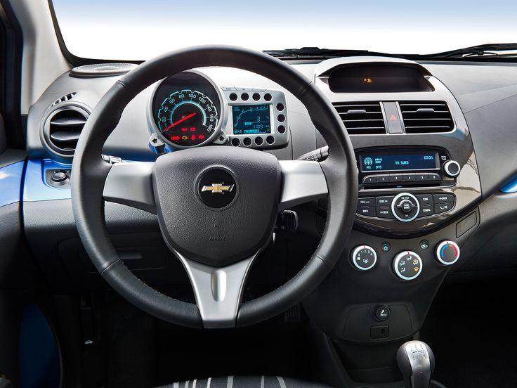 2013 Chevrolet Spark, car, dashboard, interior