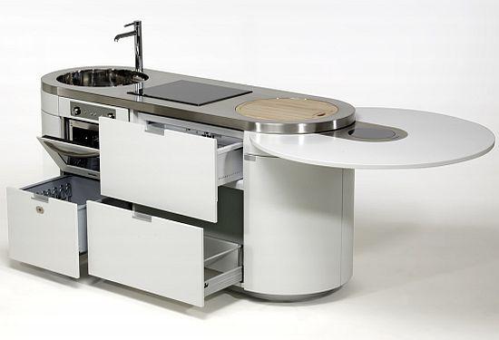 Sorpréndete con estas pequeñas cocinas compactas y funcionales. Ideales para viviendas con poco espacio.  http://reformasobrasmad.com/cocinas-integradas/