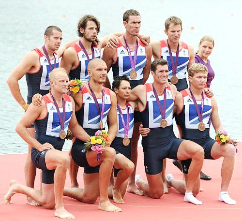 Team GB Medals 2012  05. Men's Eight Rowing Team (Constantine Louloudis, Alex Partridge, James Foad, Tom Ransley, Ric Egington, Mo Sbihi, Greg Searle, Matt Langridge and cox Phelan Hill) - BRONZE  (Rowing: Men's Eight)