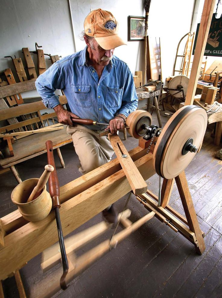 U.S. woodworkers design a foot-powered lathe for Honduran artisans so they can produce mortars and pestles for sale. By Don Weber Pages: 64-67 From the August 2007 issue #163 Buy this issue now Take one 13-tooth bicycle sprocket, a bicycle chain and a heavy spring. Add to that some plumber's floor flanges, a few assorted nuts, Allen screws and wooden parts. And what do you have? You might not believe …